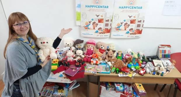 Vrtićarci iz Čaglina donirali svoje igračke vršnjacima u Sisku i Petrinji