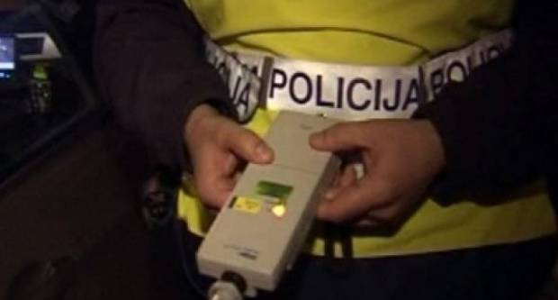 Rekorderi u vikend akciji policije. Vozač imao više od 3 promila alkohola u krvi