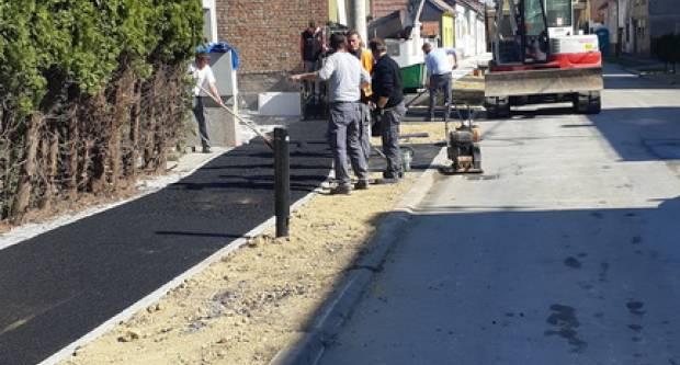 U tijeku su radovi asfaltiranja pješačko-biciklističke staze u Dalmatinskoj ulici