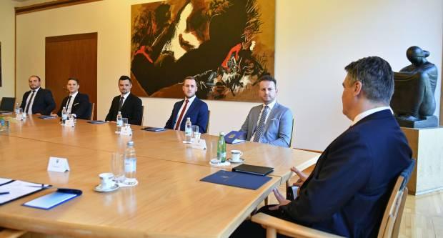 Danas na razgovoru s Milanovićem i mladi Brođanin