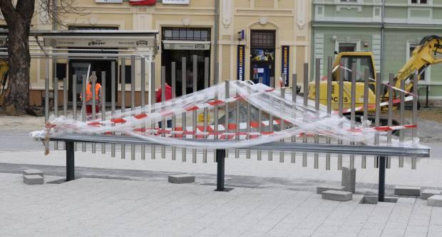 UREĐENJE NOVOG TRGA U PAKRACU: Glazbena ograda kao orgulje