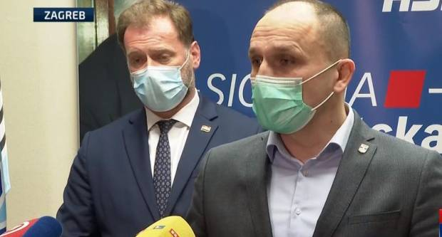 Banožić i Anušić uvjeravaju da su mediji izmislili sukob među njima?