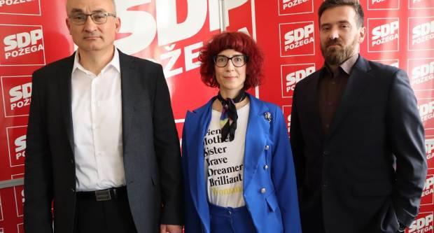 SDP Požega predstavio svoje kandidate za župana i zamjenicu župana