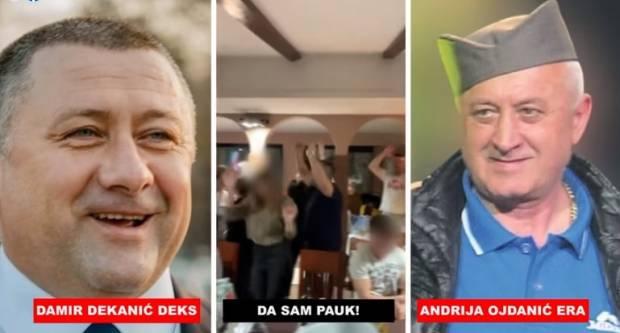 Velimir Bujanec: HDZ-ov kandidat za župana Damir Dekanić 'peva' hit Ere Ojdanića, srpskog turbo-folkera koji je '91. slavio s okupatorima u Vukovaru