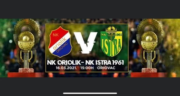 Danas u Oriovcu četvrtfinale Kupa Hrvatske. Evo gdje možete gledati izravan prijenos utakmice