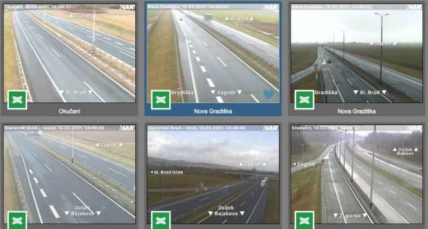 Na autoceste stiže više od 1100 super kamera: Alarm samo nekoliko sekundi nakon incidenta