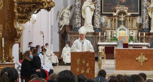 Proslava sv. Josipa zaštitnika Katoličke osnovne škole u Požegi