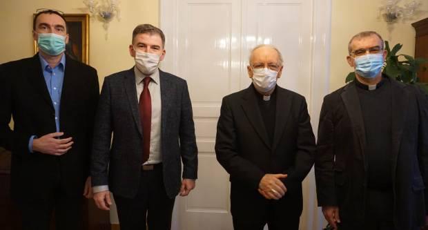 Požeški biskup primio predsjednika Hrvatskog katoličkog liječničkog društva