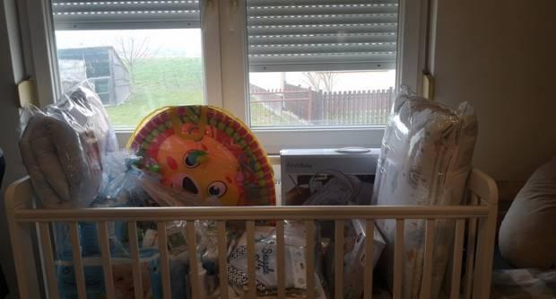 Opremu za prvorođenče dobilo još pet obitelji