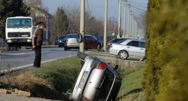 U prometnoj nesreći teško ozlijeđena 39-godišnjakinja
