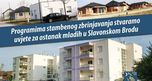 Programima stambenog zbrinjavanja stvaramo uvjete za ostanak mladih u Slavonskom Brodu