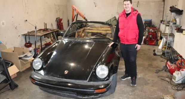 Mladi Marko Pribocki u život vraća klasične Porsche-e oldtimere