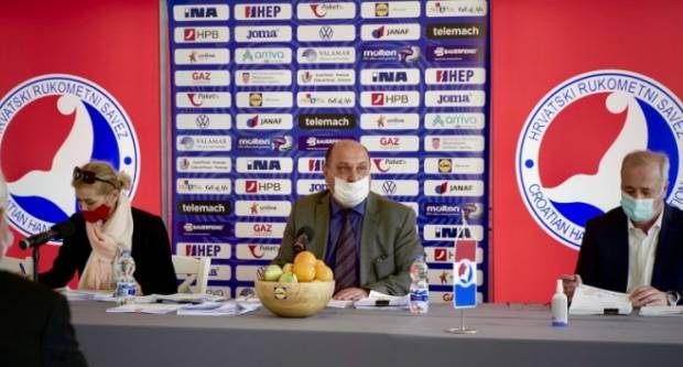 Upravni odbor Hrvatskog rukometnog saveza donio odluku o prekidu liga