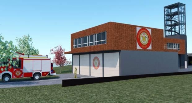 Projekt novog vatrogasnog spremišta u Kaptolu