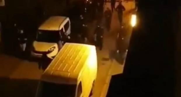EKSKLUZIVNO: Snimka iz Mesićeve nekoliko trenutaka nakon sukoba navijača