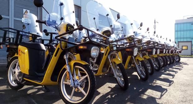Poštari od sada dostavljaju i na električnim mopedima