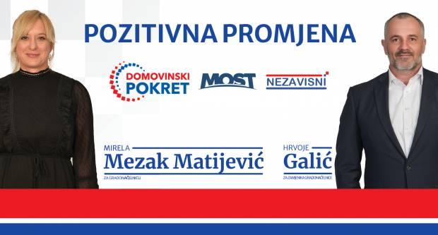 Poziv na upoznavanje kandidata koalicije Domovinskog pokreta, MOST-a i Nezavisnih za predstojeće izbore za Grad Pleternicu