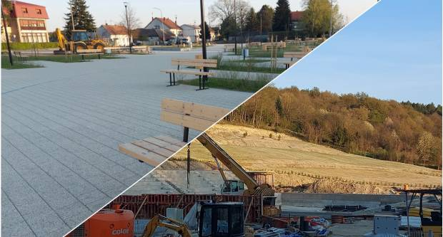 PRVA I JEDINA FONTANA: Veliku će krasiti novi trg, a napreduju i radovi na bazenima