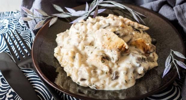 Ručak za pola sata: Recept za kremasti rižoto s piletinom kao iz najboljih restorana