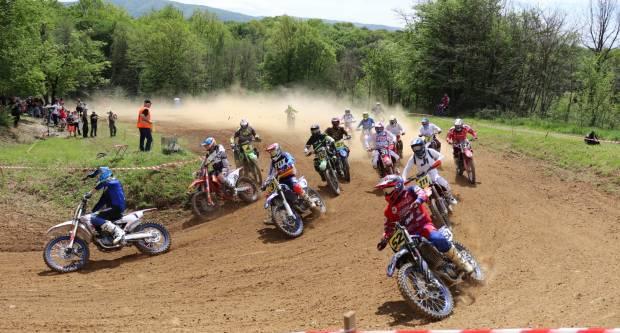 "Motocross utrka ""Bljesak 2021."" u Prekopakri, 2.5.2021."
