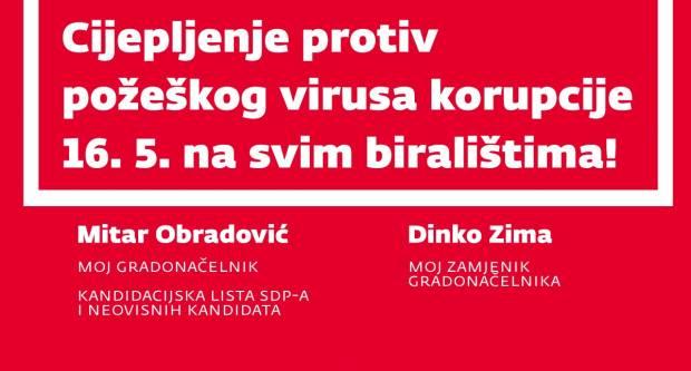 Prvi zadatak je obračun s požeškim virusom korupcije, Požegu vidimo kao moderan grad jednakih građana