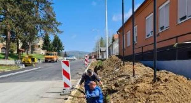 Početak izgradnje plinske mreže naselja Kaptol i Komarovci