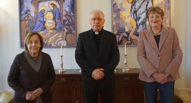 Biskup Antun Škvorčević primio je u Biskupskom domu ravnateljicu Instituta za povijest umjetnosti