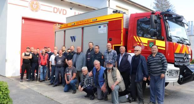 Lipički vatrogasci za sv. Florijana dobili poklon vrijedan 2,5 milijuna kuna