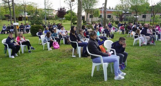 U Voćinu održano hodočašće osnovnoškolske djece i ministranata Požeške biskupije
