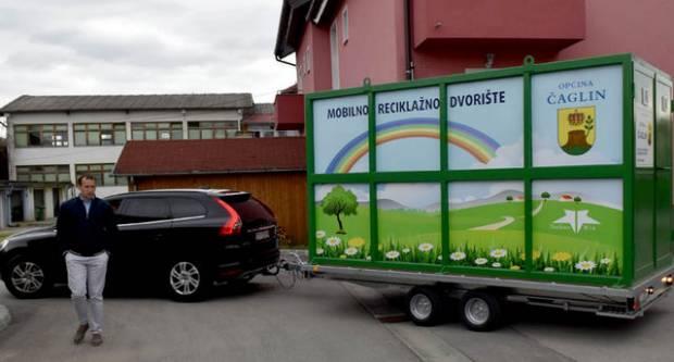 Prvi u Požeštini: Općina Čaglin kupila novo mobilno reciklažno dvorište
