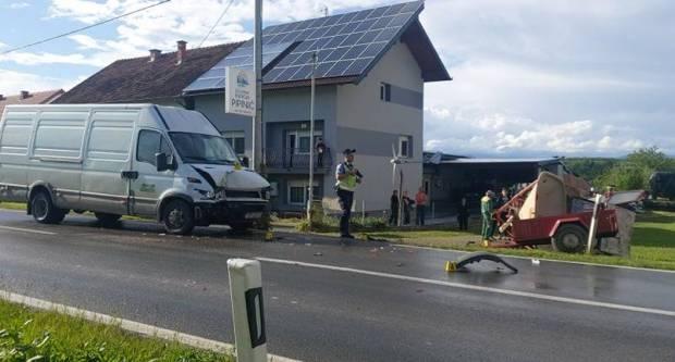 U prometnoj nesreći u Brestovcu lakše ozlijeđen 43-godišnjak
