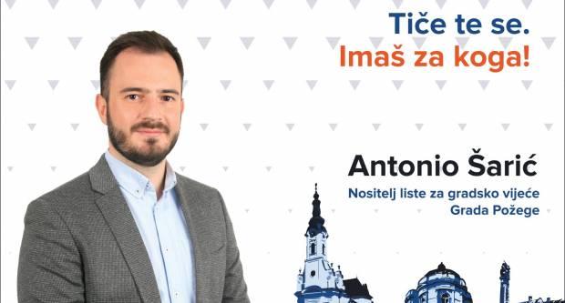 Antonio Šarić: Ne promatrajte! Birajte!