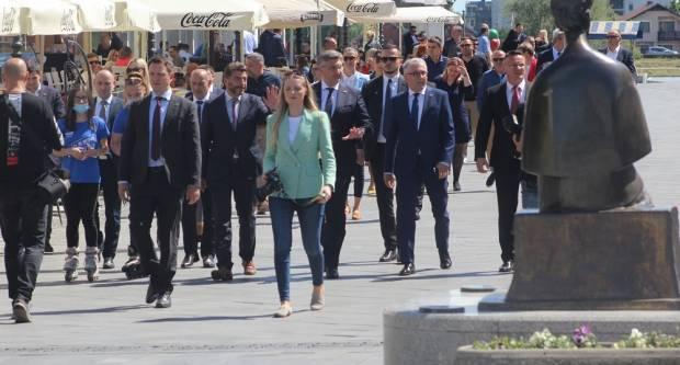 Plenković u Sl. Brodu: ʺOvo je najvažnija politička utakmica drugog kruga u Brodsko-posavskoj županijiʺ
