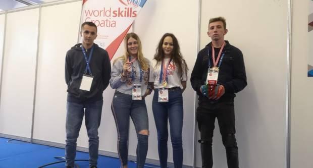 WordSkills Croatia 2021: Učenici Obrtničke škole ponovno među najboljima u državi