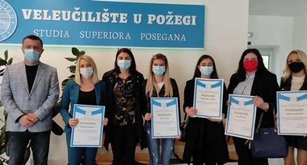 VELEUČILIŠTE U POŽEGI- Svečana dodjela priznanja studentima i djelatnicima