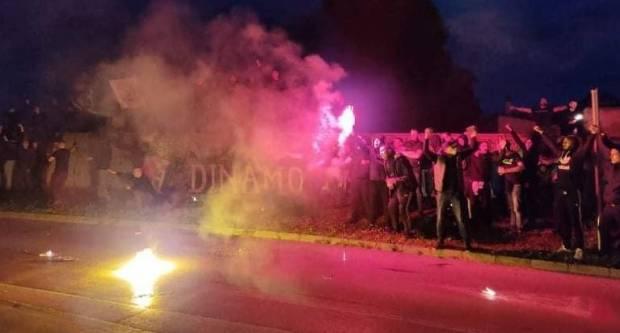Dinamo svetinja - novi mural na stadionu NK Slavonija u Požegi