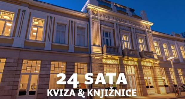 NOĆ OTVORENIH VRATA- 24 sata kviza i knjižnice