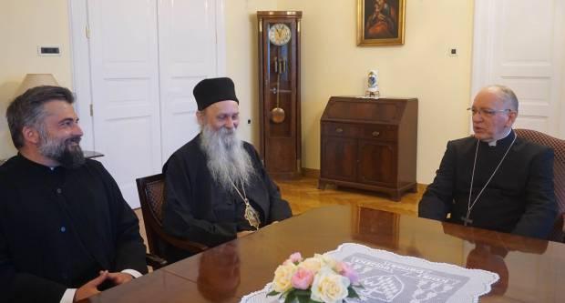 Susret požeškog biskupa Antuna i pakračko-slavonskog episkopa Jovana