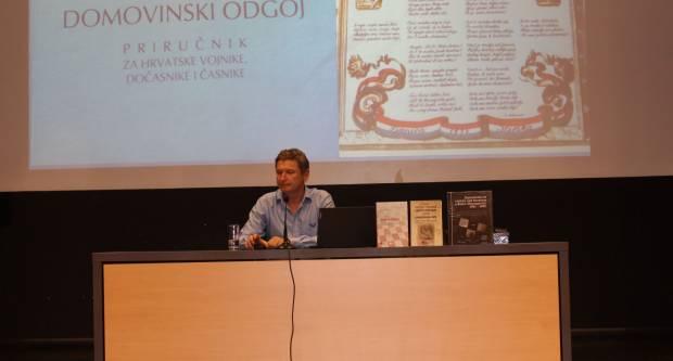 Povodom 30. obljetnice 63. ʺAʺ samostalne bojne ZNG Požega, prof. dr. sc. Ante Nazor održao predavanje u Požegi
