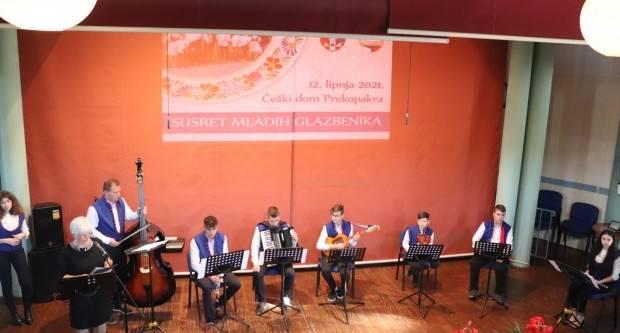 Susret mladih glazbenika održan u Češkom domu u Prekopakri