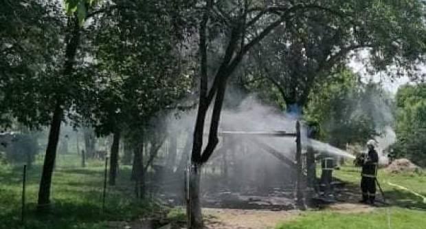 Jučer požar štaglja i sijena u Novoselcima