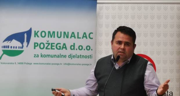 Direktor Komunalca Požega d.o.o. Tomislav Didović podnio ostavku iz osobnih razloga