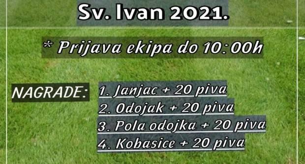 """Malonogometni turnir """"Sv. Ivan"""" u Marinom Selu održat će se 20. lipnja"""