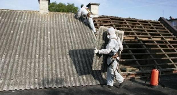 Oprezno prilikom uklanjanja azbestnih pokrova