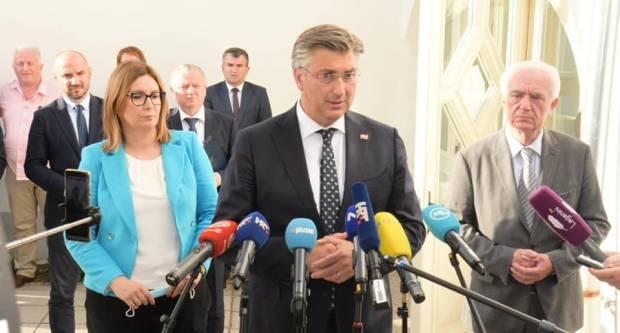 Plenković najavio pomoć: Za područje Požege prva odluka u četvrtak