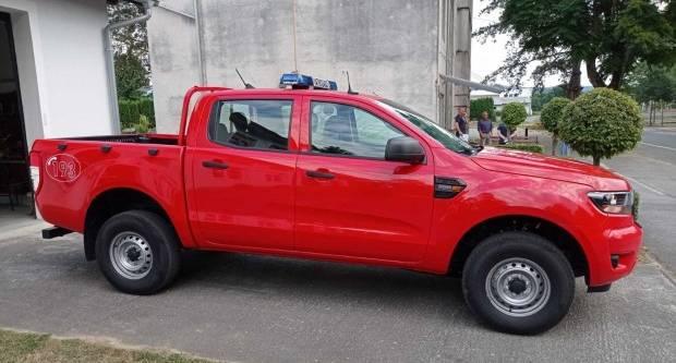 U DVD Lipik stiglo novo pick-up vatrogasno vozilo marke Ford