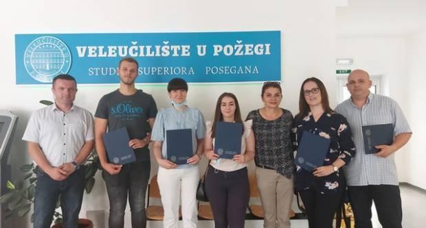 Veleučilište u Požegi: Dodjela studentskih stipendija