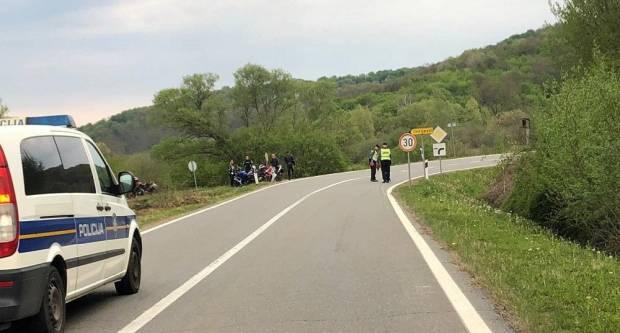 U teškoj prometnoj nesreći poginuo motociklista