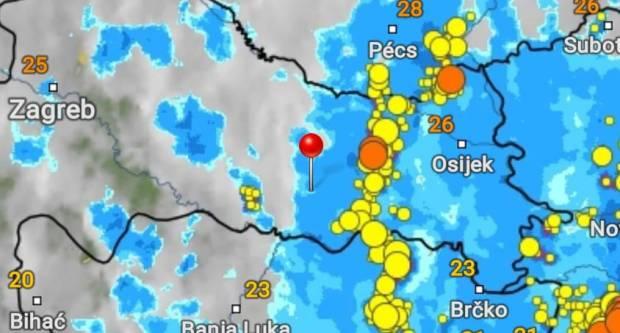 Stiže nevrijeme, nadamo se da će nas zaobići jaka kiša i led