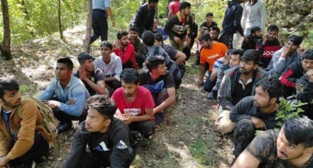 U Cisti Velikoj otkriveno više od 40 ilegalnih migranata